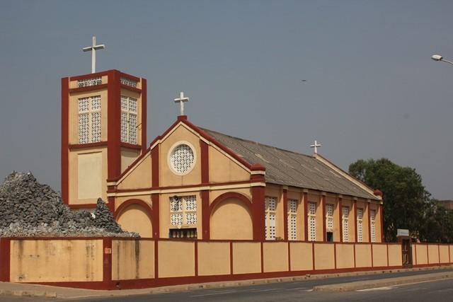 photo de l'église Sacré-COeur d'Adjido