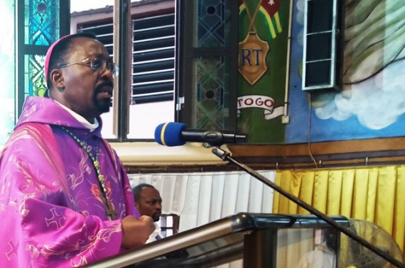 Lettre  de l'évêque aux jeunes du diocèse