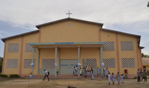 Dédicace de l'église d'Agome-Glozou